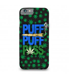 puff pass printed mobile cover