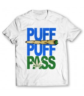 puff pass printed graphic t-shirt