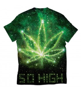 so high all over printed t-shirt
