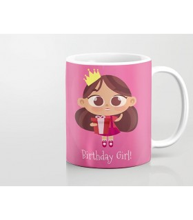 Birthday Girl PRINTED MUG
