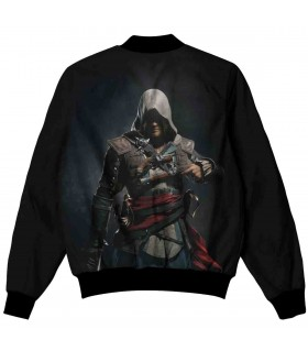 ASSASSINS CREED BLACK FLAG ALL OVER PRINTED JACKET