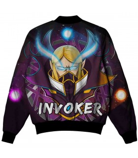 INVOKER ALL OVER PRINTED JACKET