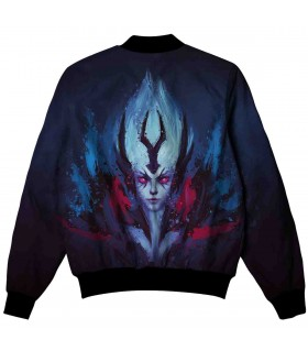 VENGEFUL SPIRIT ALL OVER PRINTED JACKET