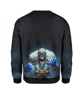 ZEUS GOD printed sweatshirt