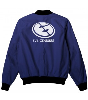 EVIL GENIUSES ALL OVER PRINTED JACKET