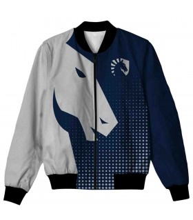 TEAM LIQUID ALL OVER PRINTED JACKET
