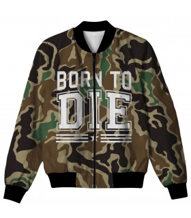BORN TO DIE ALL OVER PRINTED JACKET