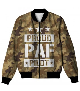 PROUD PAF PILOT ALL OVER PRINTED JACKET