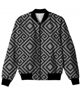 Abstract geometric ALL OVER PRINTED JACKET