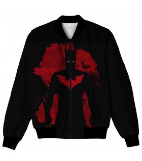 batman beyond all over printed jacket