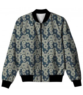 dandelion all over printed jacket