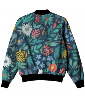 multi floral all over printed jacket