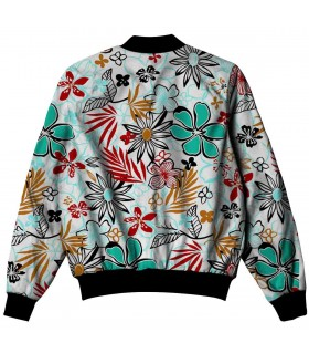 water color all over printed jacket