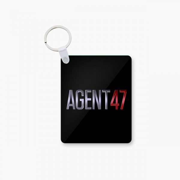 Agent Art Printed Keychain