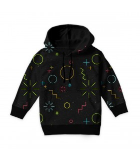 abstract kids hoodie