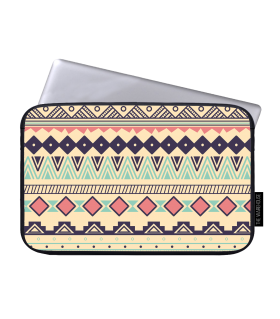 ethnic design art printed laptop sleeve