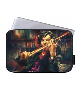 Violin art printed laptop sleeves