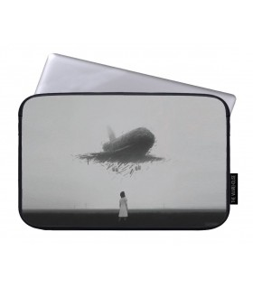 airplane art printed laptop sleeves