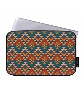 aztec pattern art printed laptop sleeves