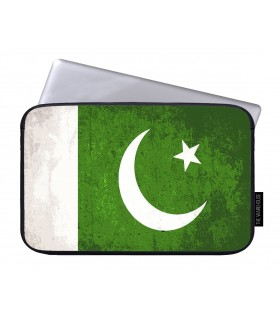 pakistan flag art printed laptop sleeves