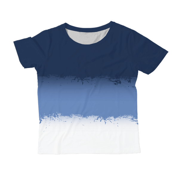 Solid Color Kids All-Over Print T-Shirt