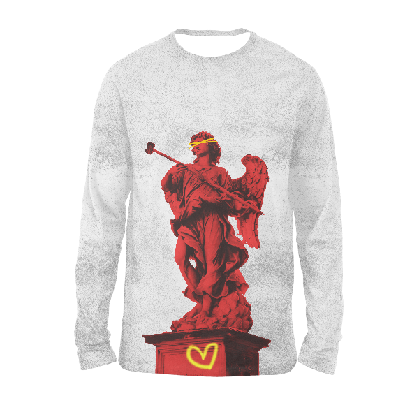 Statue Of Might Aesthetico Full Sleeves T-Shirts