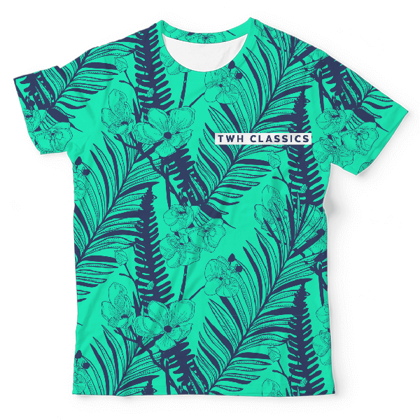 Floral Void Twh Classics Unisex All-Over Print T-Shirt