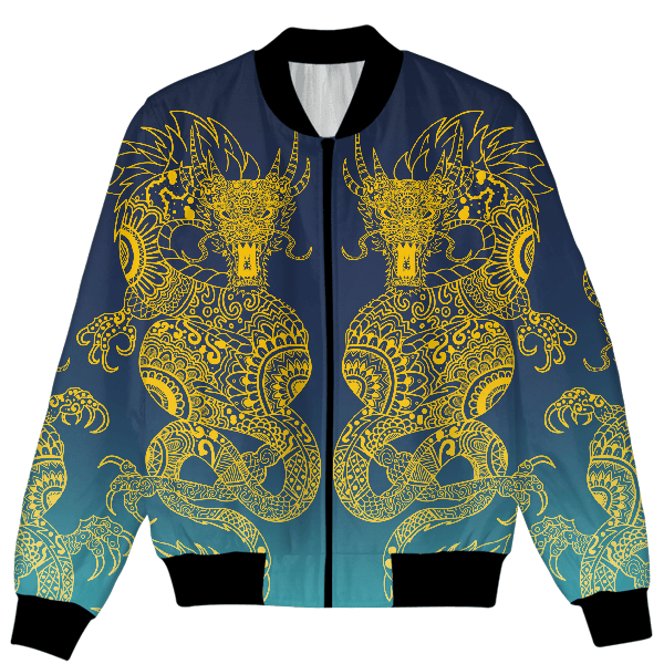 Twin Dragons Unisex Jacket