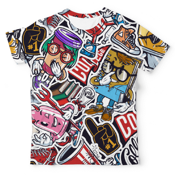 Notorious Unisex All-Over Print T-Shirt