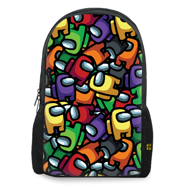 Crewmates Pattern Backpack
