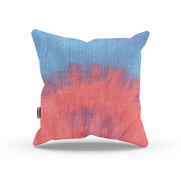 Gradient Tie Dye Pillow