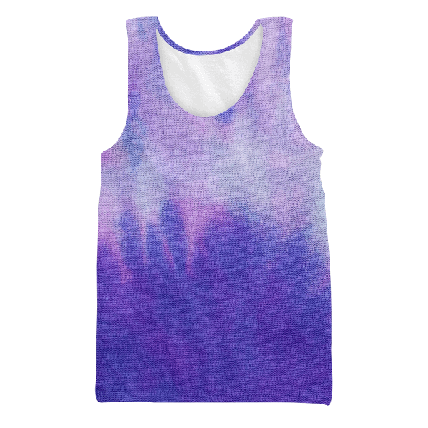 Colorful Tie Dye Unisex Tank Top
