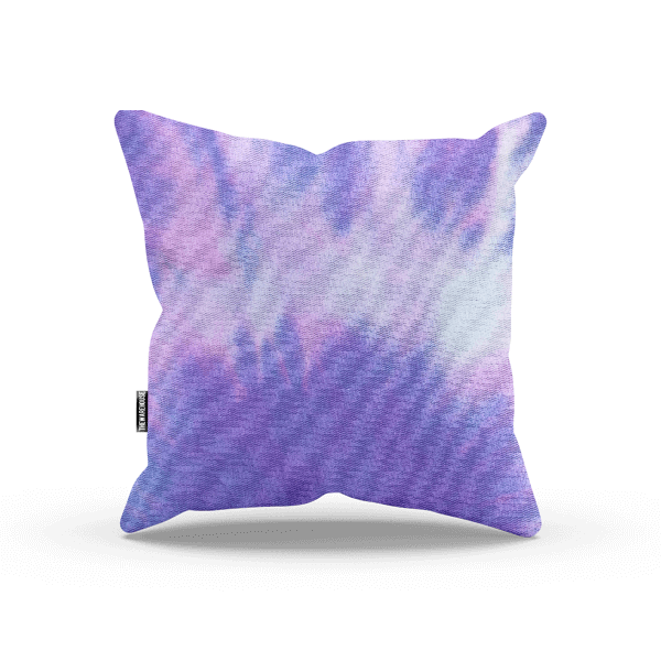 Colorful Tie Dye Pillow