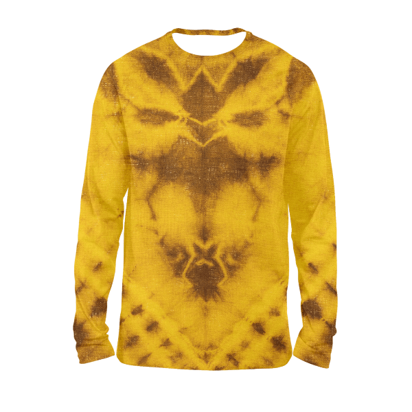 Top View Tie Dye Full Sleeves T-Shirts