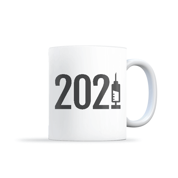 Year Of The Vaccine Mug