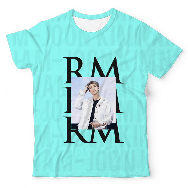 RM UNISEX ALL-OVER PRINT T-SHIRT