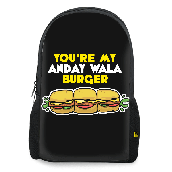 You're My Anday Wala Burger BACKPACK