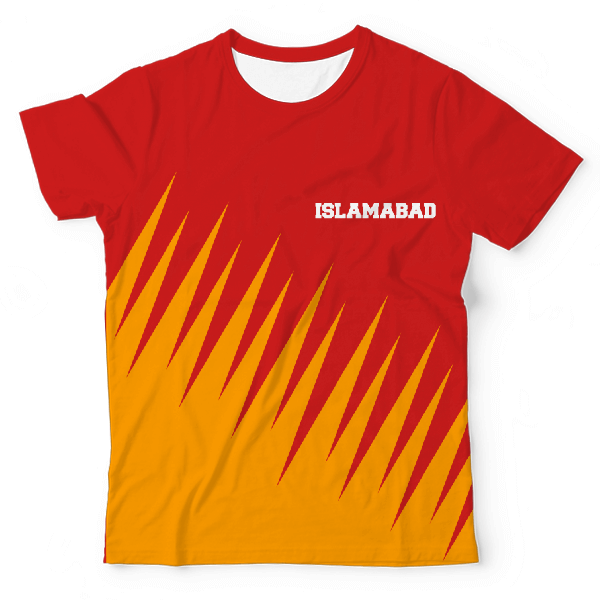 Team Islamabad UNISEX ALL-OVER PRINT T-SHIRT