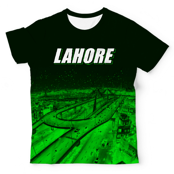 Lahore City UNISEX ALL-OVER PRINT T-SHIRT