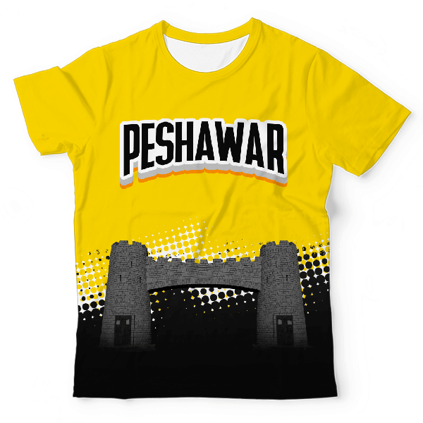 Peshawar The Fort UNISEX ALL-OVER PRINT T-SHIRT