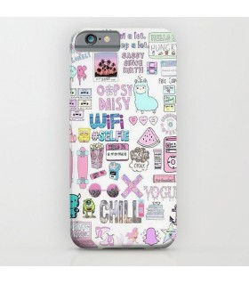 chilll art printed mobile cover