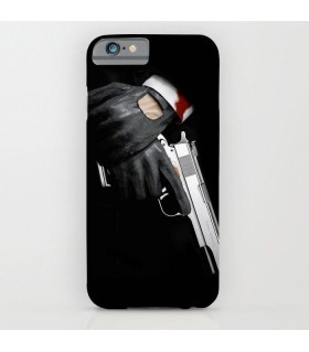 hitman art printed mobile cover case