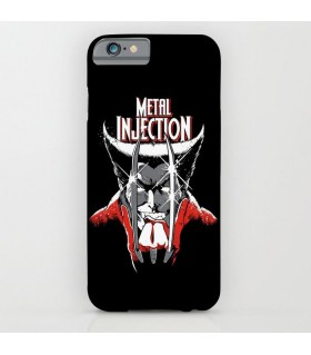 metal injection art printed mobile cover