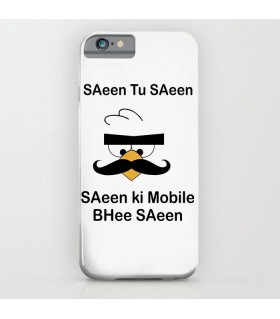 Angry bird saeen printed Mobile cover case