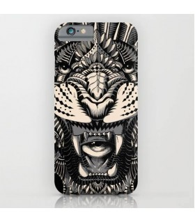 Angry Tiger Printed Cover Case