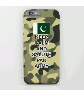 Camouflage salute pak army art printed mobile cover case