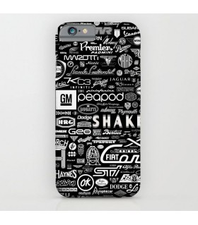 Cars Brands Printed Cover Case