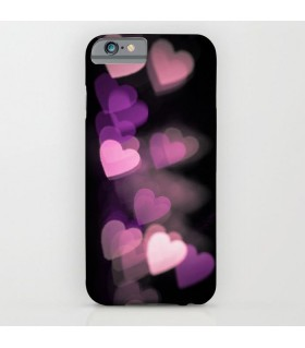 dark glowing heart Printed Cover Case