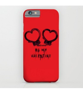 heart handcuffs Printed Cover Case