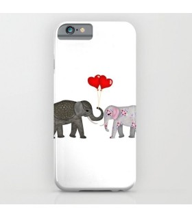 Elephant Romance Printed Cover Case